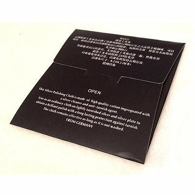 Premium Silver Polishing Cloth Jewellery Cleaning Clean Polish 925 Sterling new 2