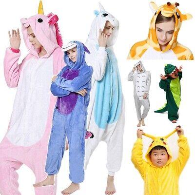 Pigiama intero costume animale kigurumi unisex carnevale Halloween festa cosplay 10