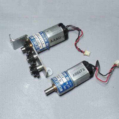 THINK DC12V-24V 350RPM mini 20mm Full Metal Gearbox Gear motor Reducer DIY Robot 11