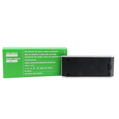 Digital Bevel Box Protractor Angle Measure Inclinometer Angle Gauge Meter Finder 11