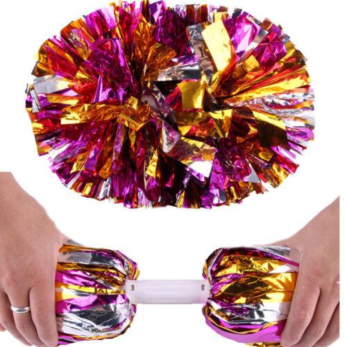 Pom Poms Pom Pom Tanzwedel Cheerleader Puschel Tanzpuschel 12x2 S//O/® 24er Pack