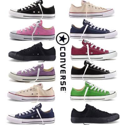 ALL/STAR Chuck Taylor Uomo Donna Unisex Maglia Scarpe Di Tela Basse Shoes #01 4