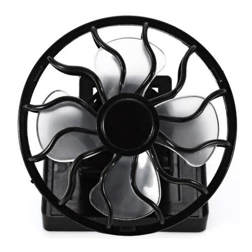 Solarlüfter Belüfter Ventilator Kühler Miniventilator Outdoor mit Klammer