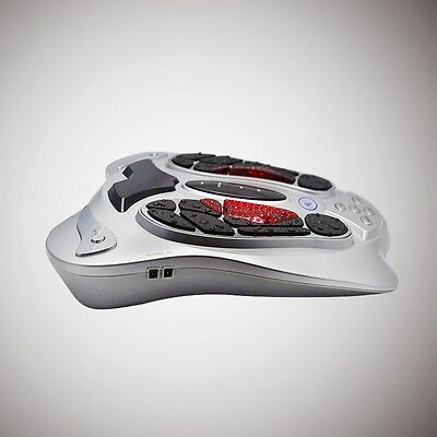 US Medical Circulation Blood Booster Foot Massager Relax Infrared Remote Control