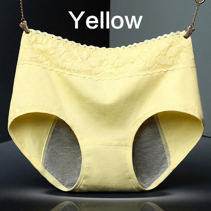 Women Menstrual Pants Leak Proof Briefs Period Seamless Panties M/L/XL 8
