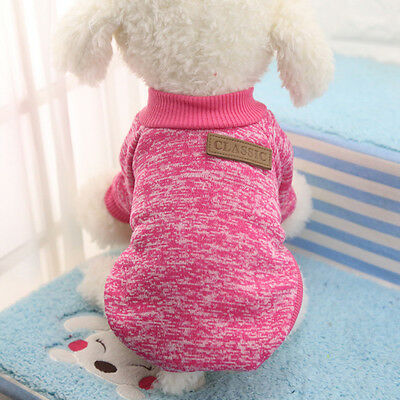 Pet Coat Dog Jacket Spring Clothes Puppy Cat Sweater Coat Clothing Apparel New 3
