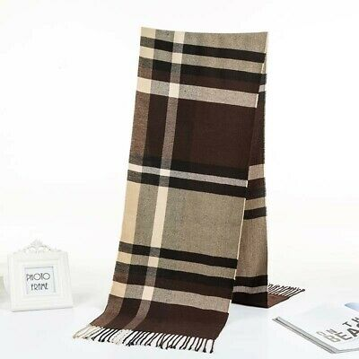 20 scarves discount pashmina men unisex plaid checked wholesale shawls 10
