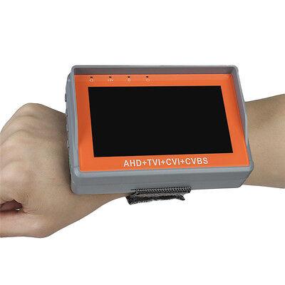 "4 in 1 Handgelenk 4,3 ""CVBS / AHD / TVI / CVI CCTV Kamera Display Monitor Tester"