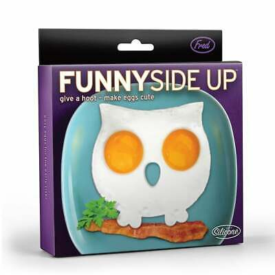 FRED FUNNY SIDE UP Egg - Corral Owl  egg cooking kitchen aid 11