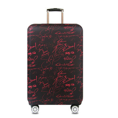 """18""""-32"""" Luggage Suitcase Elastic Protective Travel Dustproof Protector Cover Bag 6"""