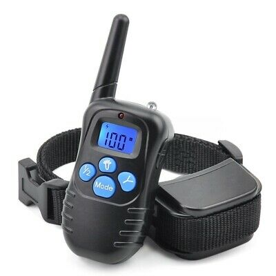 100LV 300M Electric LCD Remote Dog Rechargeable Shock Training Collar E-Collar 2