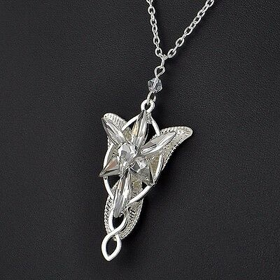 Lord of the rings arwen evenstar necklace pendant lotr hobbit uk 1 of 7free shipping lord of the rings arwen evenstar necklace pendant lotr hobbit uk seller aloadofball Choice Image