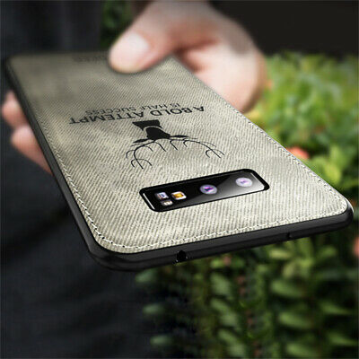 For Samsung Galaxy S10 Plus S10E Case Hybrid Soft TPU Leather Matte Back Cover 7