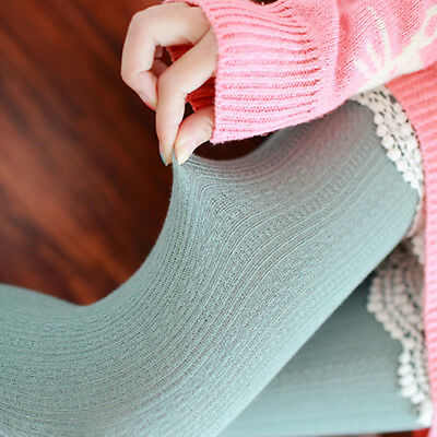 Women's Winter Cable Knit Sweater Footed Tights Warm Stretch Stockings Pantyhose 4