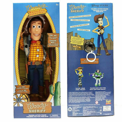 Toy Story Sheriff Woody Jessie Doll Kid Baby Soft Talking Action Figures Toy 7