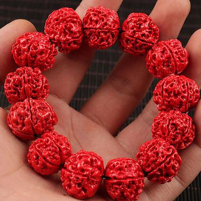 Fine 100% Hand-carved Natural Handcraft Men Fine Bracelet AAAAA 3