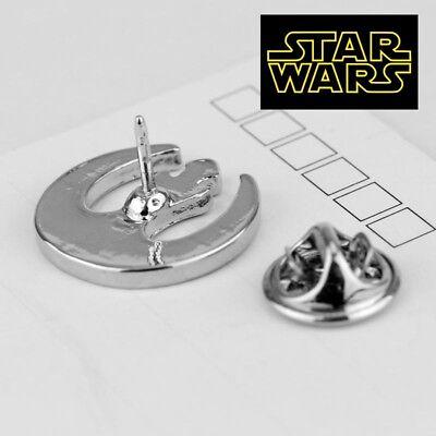 STAR WARS REBEL ALLIANCE Logo Metal Pin brooch prop badge darth vader cosplay 6