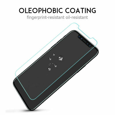 Real 9H Tempered Glass Screen Protector Film for iPhone XS Max XR X 6S 7 8 Plus 5