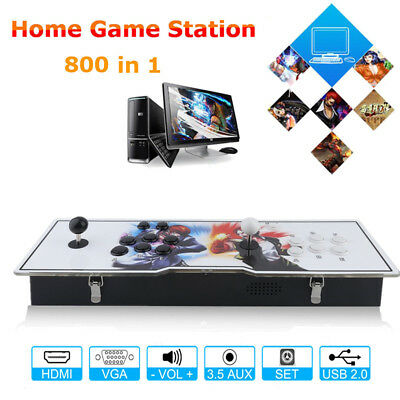 800 in1 TV Game Jamma Arcade Console Kits Double Joystick VGA Pandora Box 6s MAX 7