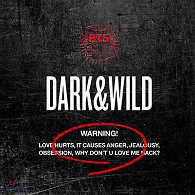 US SHIPPING BTS-[Dark&Wild] Album CD+PhotoBook+PhotoCard DARK and WILD 10
