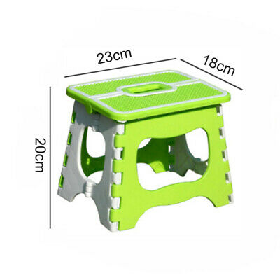 Plastic Multi Purpose Folding Step Stool Home Kitchen Easy Storage Foldable 10