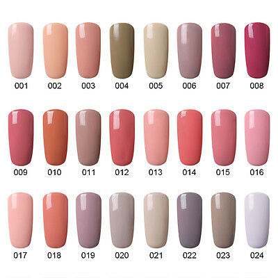 Elite99 Esmalte de uñas Nude Pink Blue Wine Red Gray Color Series Gel Manicura 5