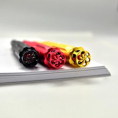 Fuliwen 015 Alumium Fountain Pen Rotating Ruby Pen Top EF/F/M with Pen Bag & Box 4