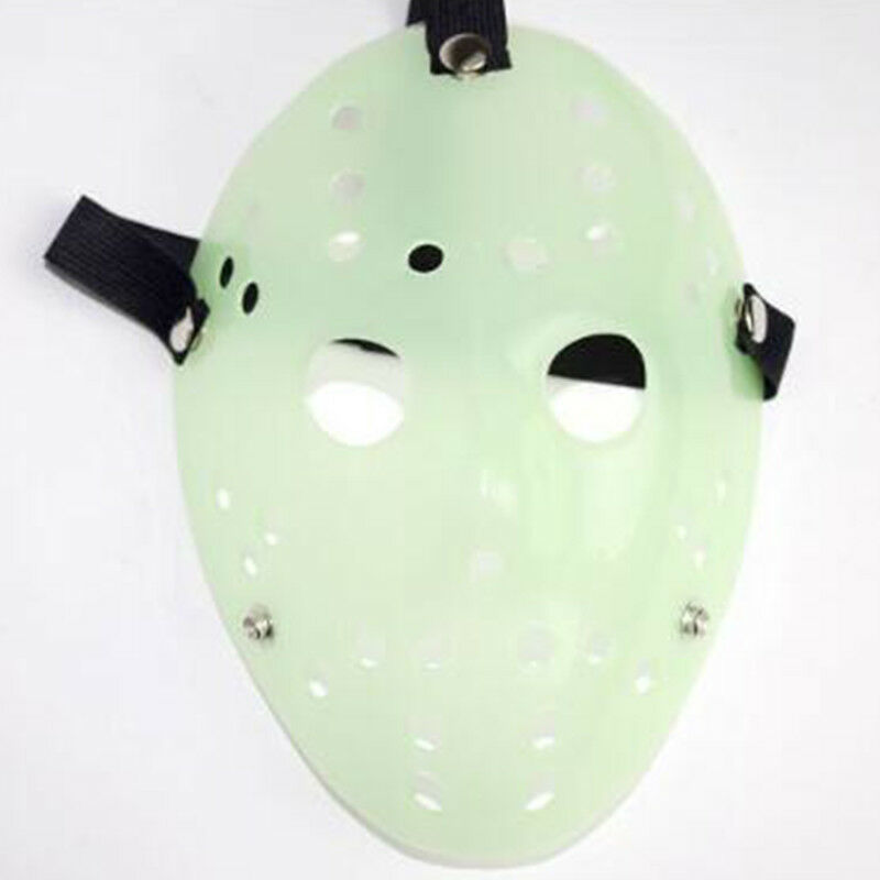 Jason Voorhees Freitag 13. Deluxe Halloween Horror Hockey Maske Cosplay Kostüm 6