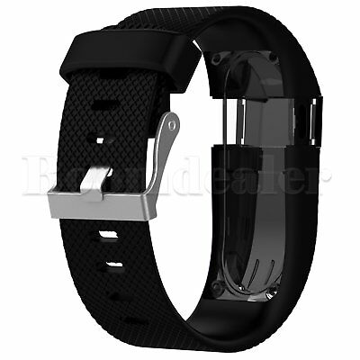 Replacement Silicone Wrist Strap Bracelet For Fitbit Charge HR Activity Tracker 3