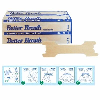 Nasal / Nose Strip - Breathe Right Better Easy *Snoring & Athlete aid ** Try it
