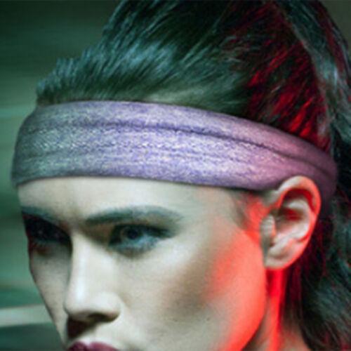 Unisex Cotton Sport Sweatband  Silicone Headband Yoga Gym Stretch Head Band 5