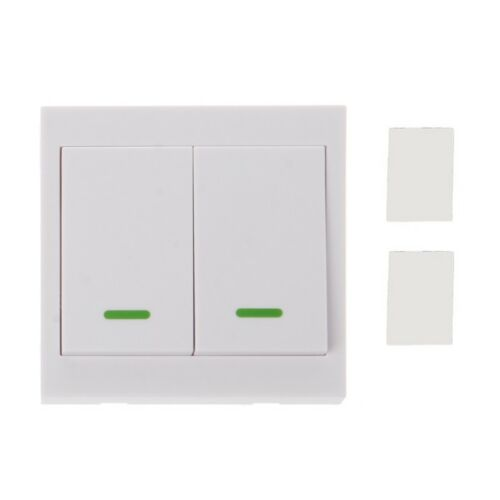 433MHz RF Wireless Remote Control Switch 86 Wall Panel Transmitter 3 2 1Button 3