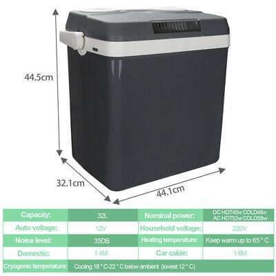 Kühlbox 24L 32L 40L Mini-Kühlschrank Eisbox 230V Stecker 2 in1 Warmhaltebox PKW
