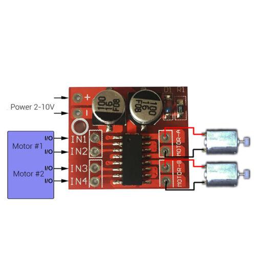 Dual Channel DC Motor Driver Mini Module PWM Speed Control Beyond L298N SP