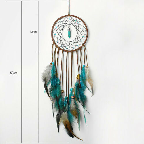 Large Feathers Dream Catcher Dreamcatcher Car Wall Hanging Decoration Ornament 3
