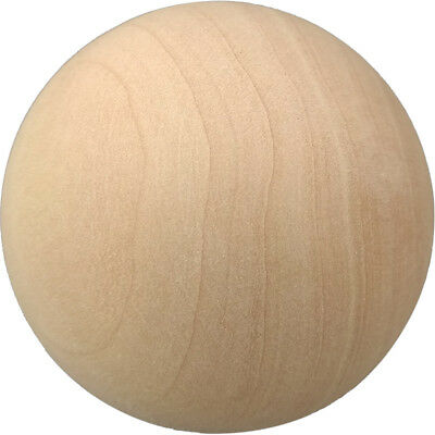 Natural Wooden Craft Wood Balls Sphere Round Craft 6mm to 60mm Dia Handmate 5