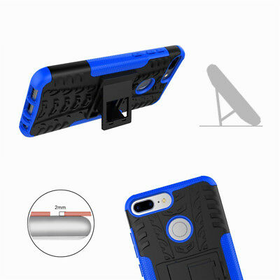 Heavy Duty Gorilla Shock Proof Stand Case Cover Military Builder Huawei Y6  2018 4