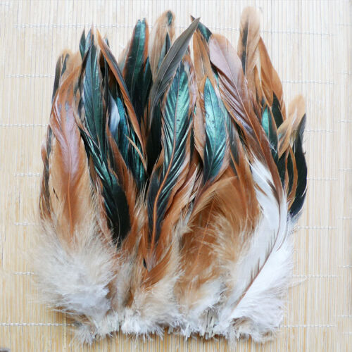 Wholesale 50/100pcs Beautiful Rooster Tail Feather 6-8inch/15-20cm Hot 5