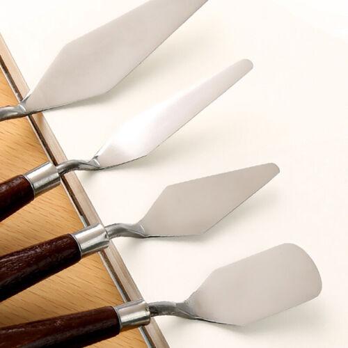 5pc Palette Knives Spatula Oil Acrylic Paint Artist Set Knife 1-2-3-4-5 Art AU 3