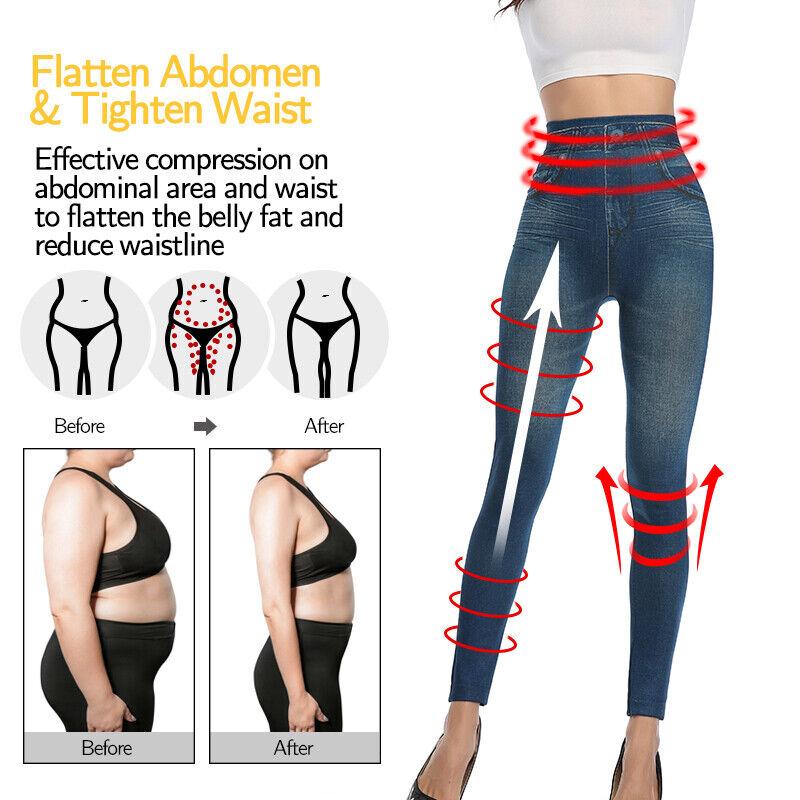 Pencil Pants Leggings Women Jeans Denim Design Pencil Pants Leggings High Waist 6