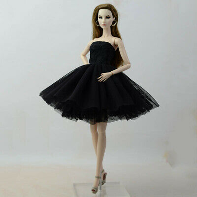 Fashion Summer Dress For 11.5in Doll Short Ballet Dresses For 1/6 Doll Clothes 6