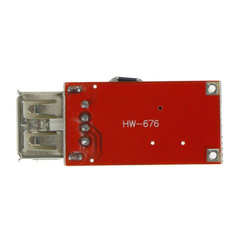 9V 12V 24V a 5V 3A CAR Cargador USB Módulo DC reductor convertidor KY 4