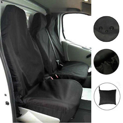 100% HEAVY DUTY2+1 For FORD TRANSIT Seat Cover Van Custom LWB MWB SWB Waterproof 2