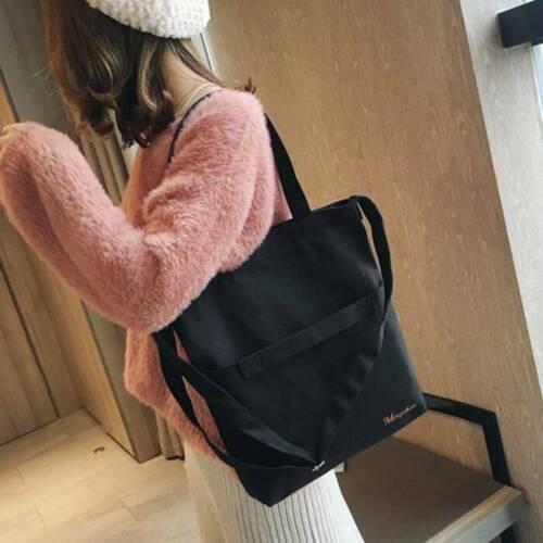 Women Ladies Designer Canvas Bag Clutch Purse Handbag Shoulder Bag Phone Pocket 4