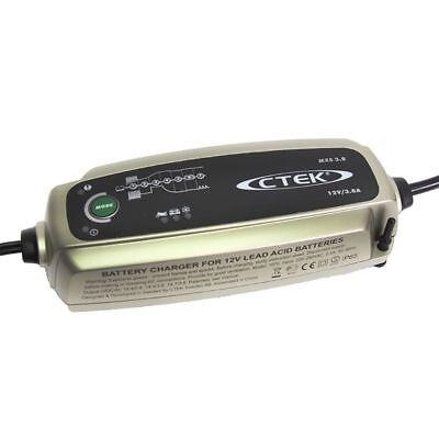 Chargeur Ctek MXS 3.8 12v 3.8A pour batterie moto auto de 1.2ah à 85ah 2
