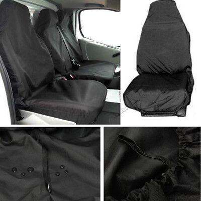 100% HEAVY DUTY2+1 For FORD TRANSIT Seat Cover Van Custom LWB MWB SWB Waterproof 5