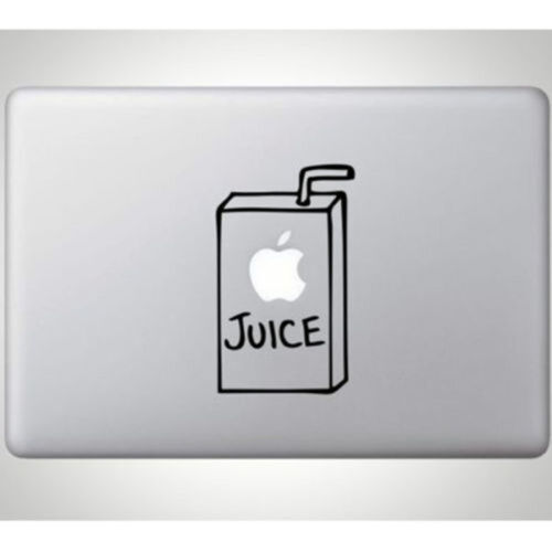 "Hot Juice Decal Sticker Skin Cover for Apple MacBook Air/Pro 11"" 12"" 13"" 15"" 17"""
