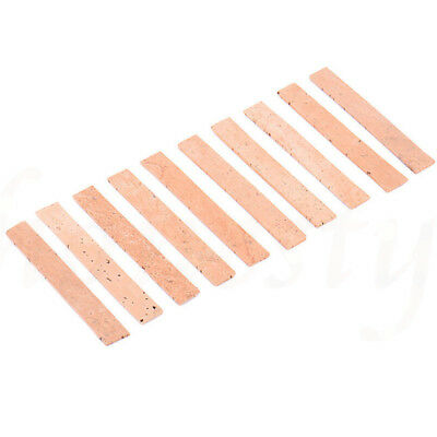 10pcs Professional Saxophone Clarinet Joint Pad Set Natural Neck Cork Sheet 4