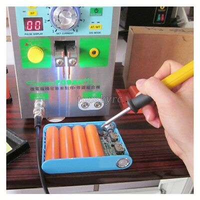 110V SUNKKO 709AD+ Battery Pulse Spot Welder For 18650 + 70B Welding Pen 3 in 1 3