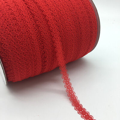 10yds 15mm Lace Ribbon Bilateral Handicrafts Embroidered Net Lace Sewing Fabric 8